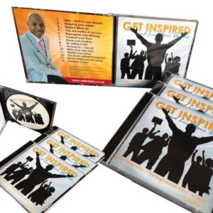 Get Inspired and Live Your Dreams CD