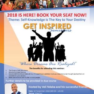 Get Inspired Seminar 2018